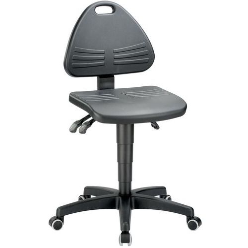 Cadeira de oficina Bimos Isitec - Baixa - Com rodízios