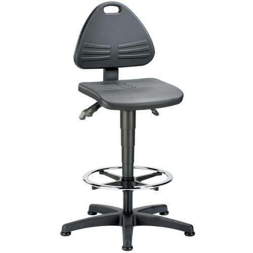 Cadeira de oficina Bimos Isitec - Alta - Com patins