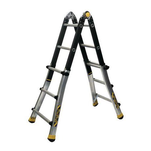 Escada telescópica dobrável TT