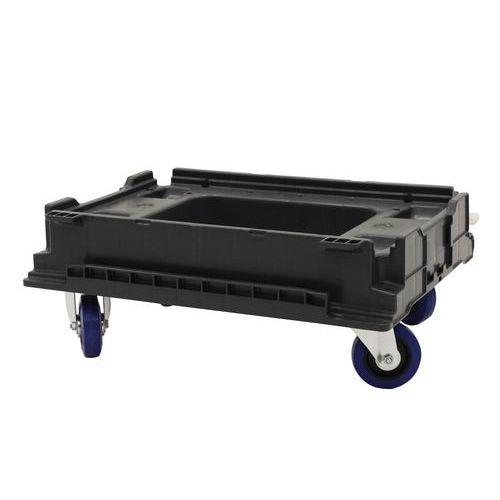 Carro acoplável Dollyfix para caixa empilhável