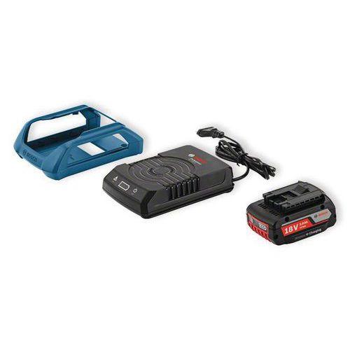 2 baterias Bosch GBA 18 V 2 Ah + carregador GAL 1830 W