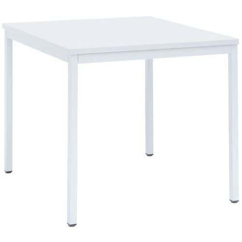 Mesa Basic-Line - Profundidade 80 cm - Manutan