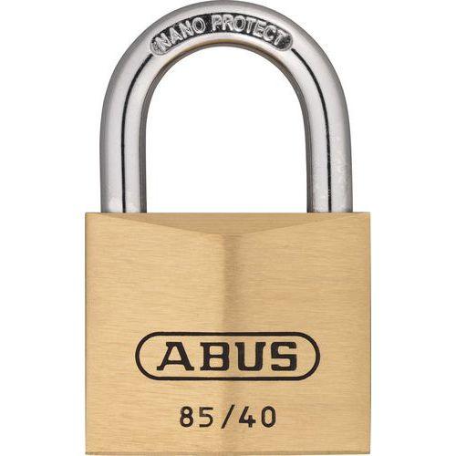 Cadeado de segurança Abus da série 85 para chave-mestra – 40mm – variado – 2 chaves