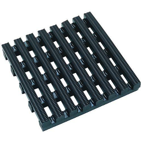Piso gradeado de elevada resistência - Em tapete