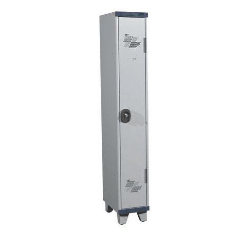 Cacifo com 1 coluna Seamline Optimum® – Coluna de 300mm de largura – Com pés – Acial