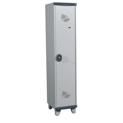 Cacifo com 1 coluna Seamline Optimum® – Coluna de 400mm de largura – Com pés – Acial