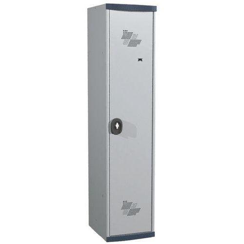 Cacifo com 1 coluna Seamline Optimum® – Coluna de 400mm de largura – Com base – Acial