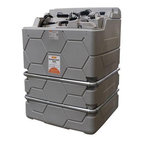 Estação de armazenamento de óleo LUB Cube Indoor - 1.000 e 1.500 L
