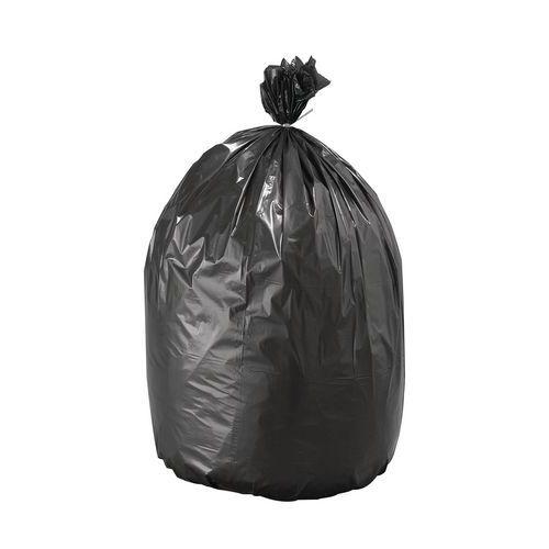 Saco de lixo Eco preto – Resíduos leves não cortantes – 30 e 50L