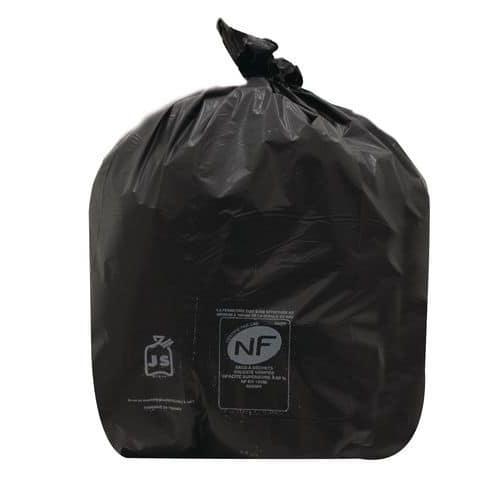 Saco de lixo preto – Resíduos pesados – 60 a 130L