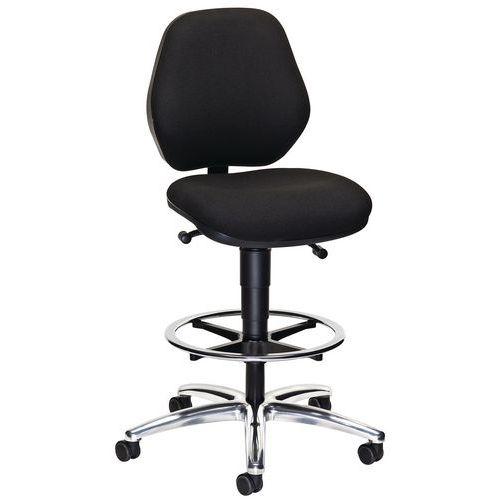 Cadeira alta móvel ergonómica