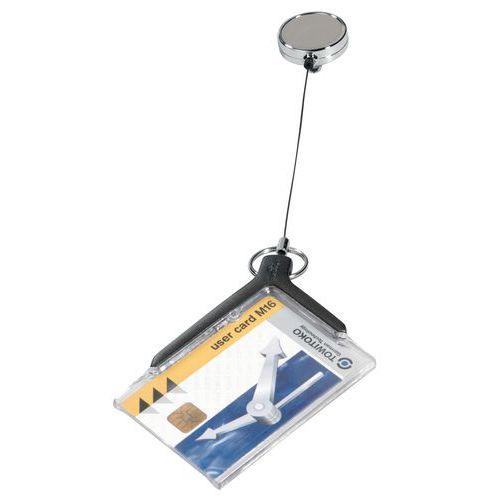 Porta-cartões Deluxe Pro - Com enrolador