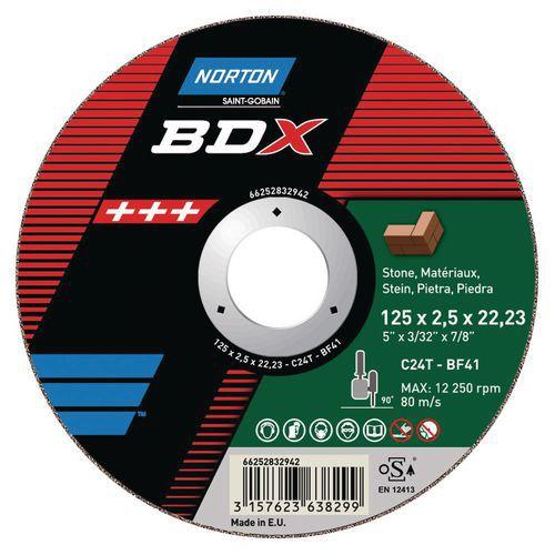 Disco de corte - material BDX - Ø 125 e 230
