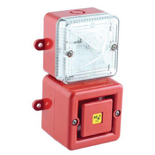 Kit Tonaled com sirene 100 dB e luz LED