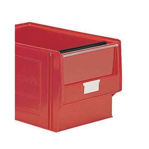 Viseira para caixa de compartimentação múltipla