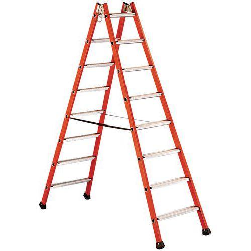 Escada dupla isolante