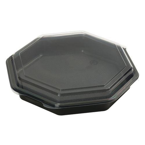 Caixa com tampa octogonal
