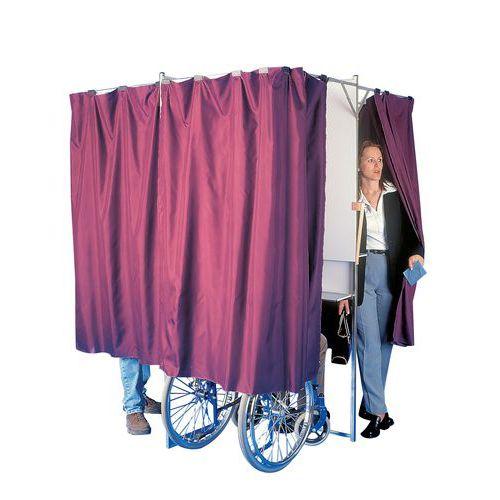 Cabina de voto dobrável