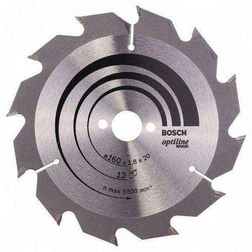 Lâmina de serra circular Wood Optiline 160