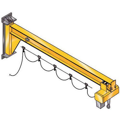 Grua de parede - Capacidade 1600 kg