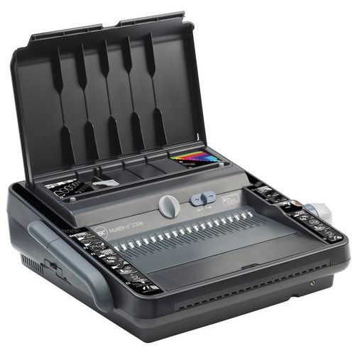Perfuradora-encadernadora Multibind 230E - Multifunções GBC