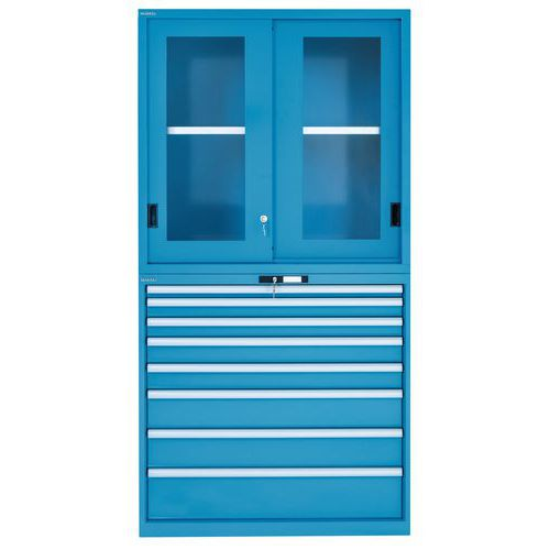 Armário porta rebatível - Largura 102 cm