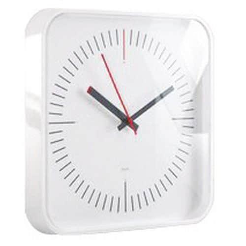 Relógio de parede em vidro