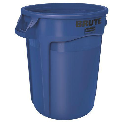 Contentor redondo Brute - Azul - 121 L