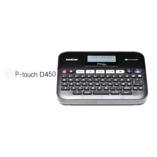 Etiquetadora Brother PT-D450VP Azerty