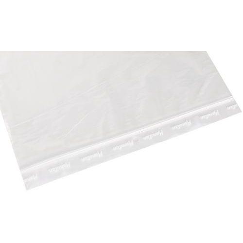 Saqueta Zip transparente de 100 mícrones – Manutan