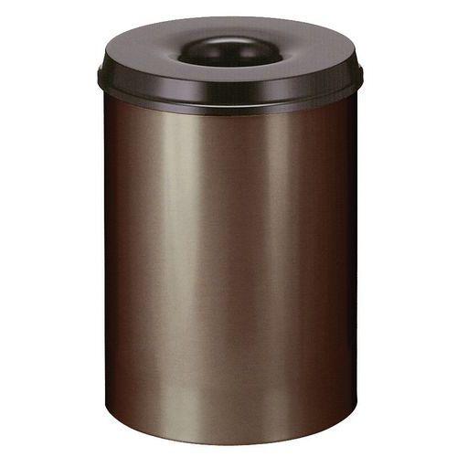Caixote de lixo para papel antifogo de 30 l