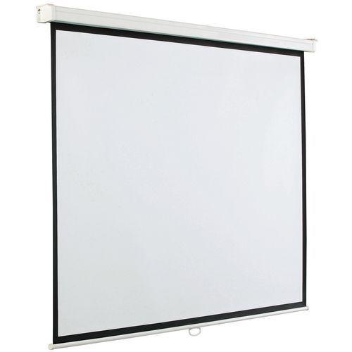Ecrã de projeção manual na parede SMIT