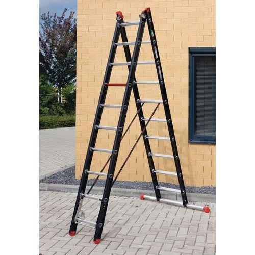 Escada transformável Mounter de 2 secções