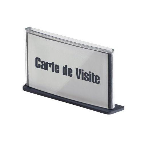 Placa de sinalização Cinatur - Cartão de visita - Paperflow
