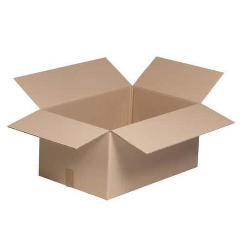 Caixa em cartão Eco – Canelado simples – Canelado pequeno