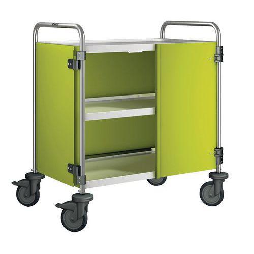 Revestimento para carro com 2/3 plataformas, capacidade de 120 kg - 3 lados + 2 portas