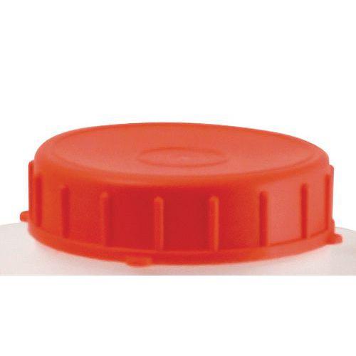 Tampão vermelho para barris e jerricãs