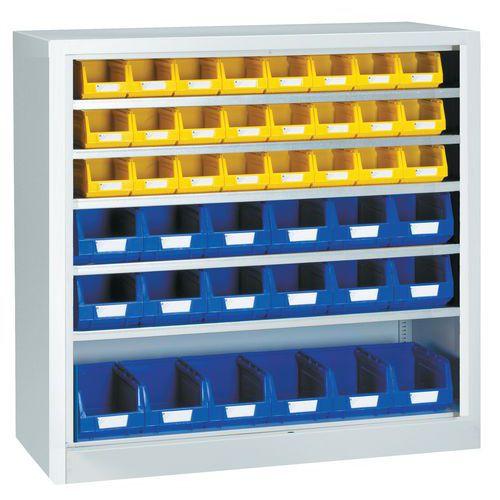 Armário standard com caixas de bico Kangourou - Baixo - Sem portas