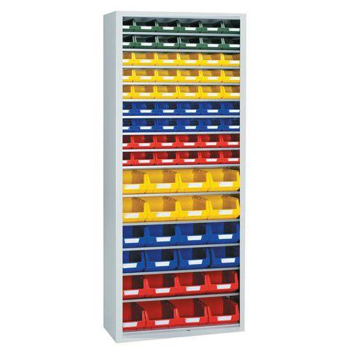 Armário standard equipado com caixas de bico Kangourou - Alto - Sem portas
