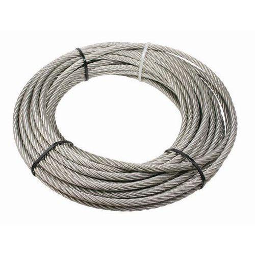 Conjunto de cabos em aço com gancho para guinchos de elevação e reboque – capacidade de carga de 150kg
