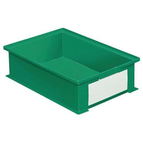 Caixa empilhável com dimensões específicas - Verde