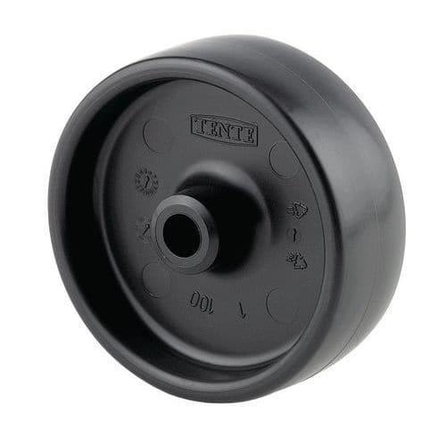 Roda em polipropileno - Capacidade de 120 kg