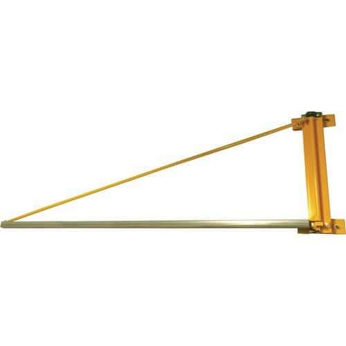 Grua de flecha triangular mural - Capacidade 20 a 100 kg
