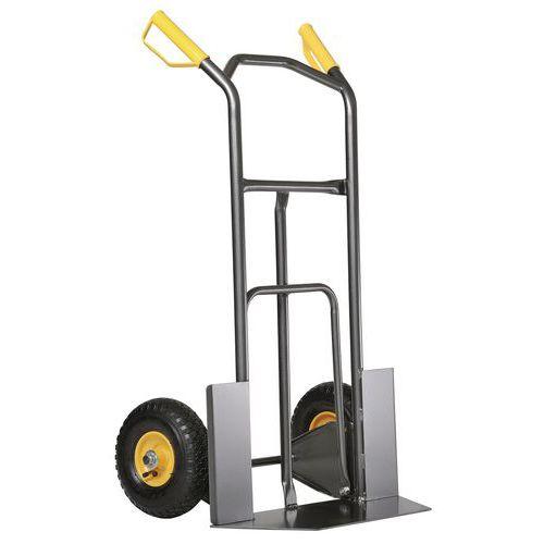 Porta-cargas ergonómico com amortecedores – Capacidade de carga de 200kg