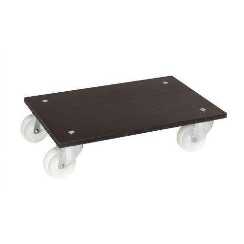 Plataforma móvel em madeira - Capacidade de carga de 300kg