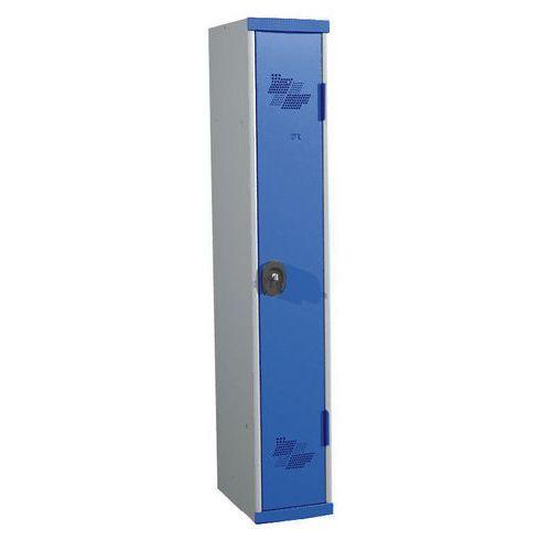 Cacifo com 1 coluna Seamline Optimum® – Coluna de 300mm de largura – Com base – Acial