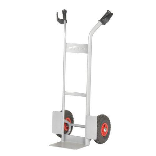 Porta-cargas aço - Rodas pneumáticas - Capacidade 280 kg