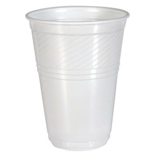 Copo de plástico branco