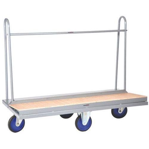 Carro para cargas compridas - Capacidade de 500 kg - Manutan