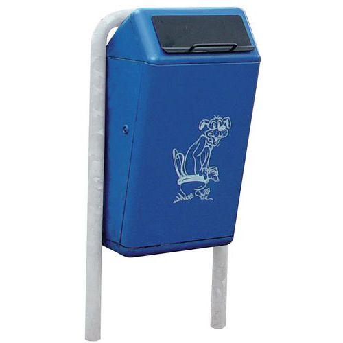 Caixote do lixo Capitole para dejetos caninos - 50 litros